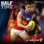 Things are looking up as we lead by 13 points. Do that again and we'll be sweet #AFLDonsLions https://t.co/mZBJDAr3yE