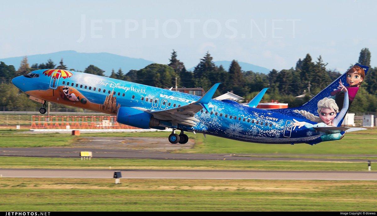 RT @JetPhotosNet: ⛄️ @Westjet's Frozen 737 departing @yvrairport for @flyLAXairport. © dlowwa