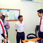 Minister of Health, Mr. Mohamed Nazim vists B.Dharavandhoo and meets with Staffs of the Health centre https://t.co/EKGaDDBFFD