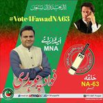 imran khan can only bring change in pakistan #NA63FawadKa https://t.co/bnM91A5I10