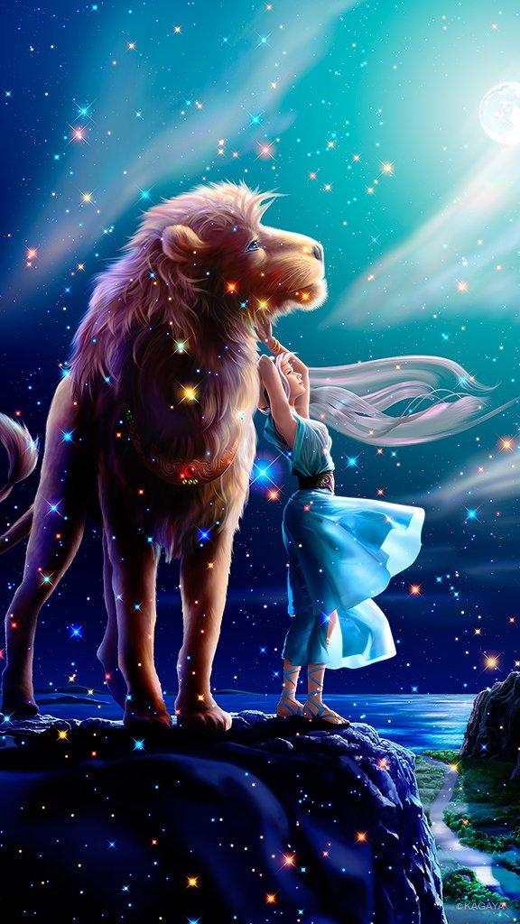 レオ(獅子座) 月から落ちて来た 女神セレネのライオンは ネメアの谷で女神を想う 女神にもらった 月…