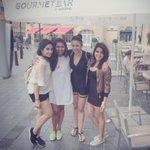 With the girlies 😘 @Samanthaprabhu2 @Rakulpreet @ReginaCassandra #Tomorrowland #Beligium #Vacaytime ❤️ https://t.co/4mb8G2hCbT