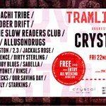 TRAMLINES DAY 3 Head down to @Crystal_Sheff today FREE ENTRY NO WRISTBAND w/ @Agg_Management https://t.co/NWdLjPAbbV