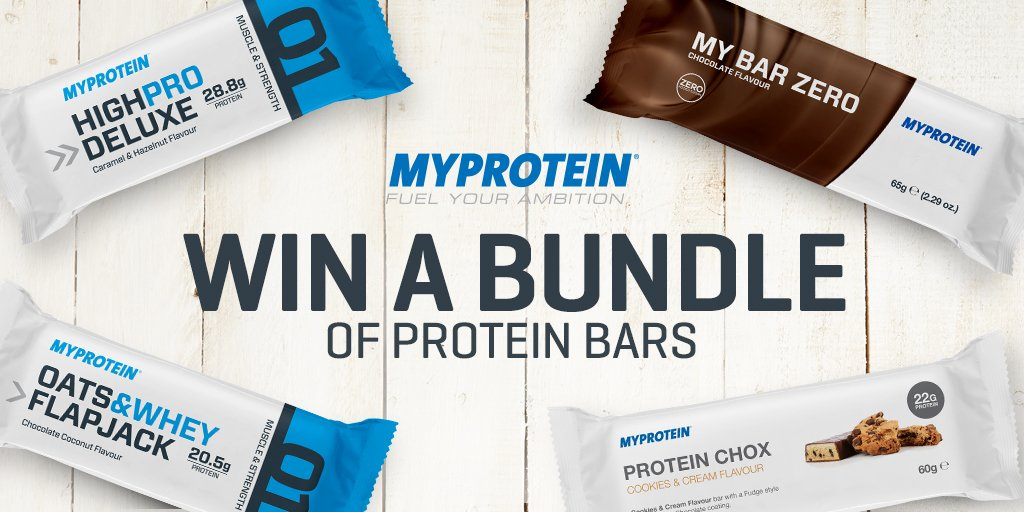 WIN a bundle of protein bars!