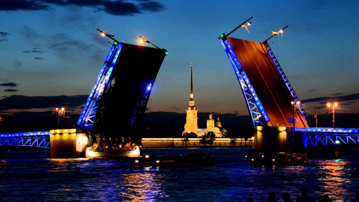 Обои на рабочий стол мосты петербурга