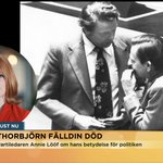 """""""Han har betytt oändligt mycket"""" - @annieloof om Thorbjörn Fälldin. #nymo @Centerpartiet https://t.co/aNAFz7XT2O https://t.co/J4phJf8fFk"""