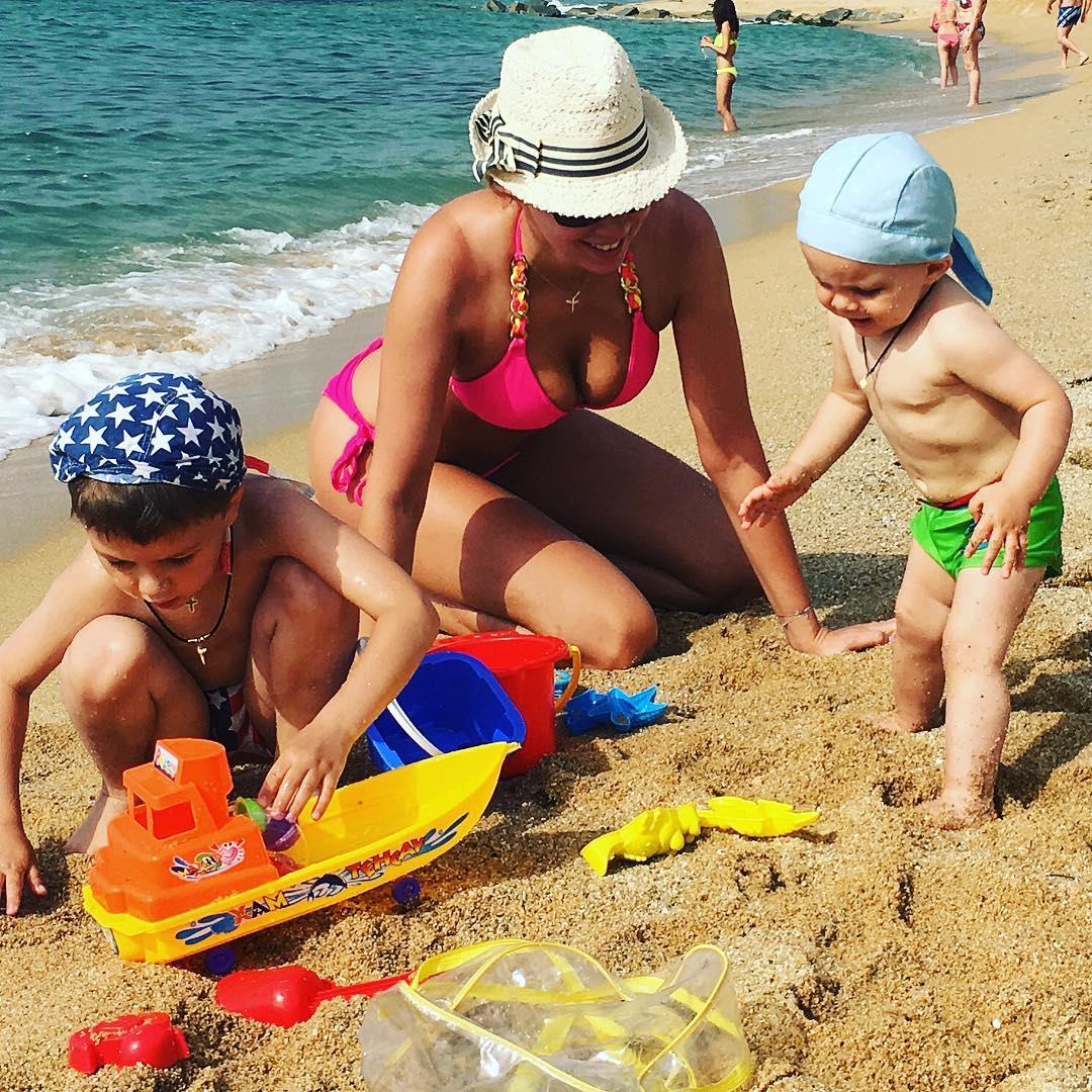 Частные фото детей на море