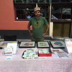 Mr @_timreedy is set up and ready to go @urbanmakerseast @RomanRoadLDN festival. Come down! https://t.co/fd2uxNlgTk