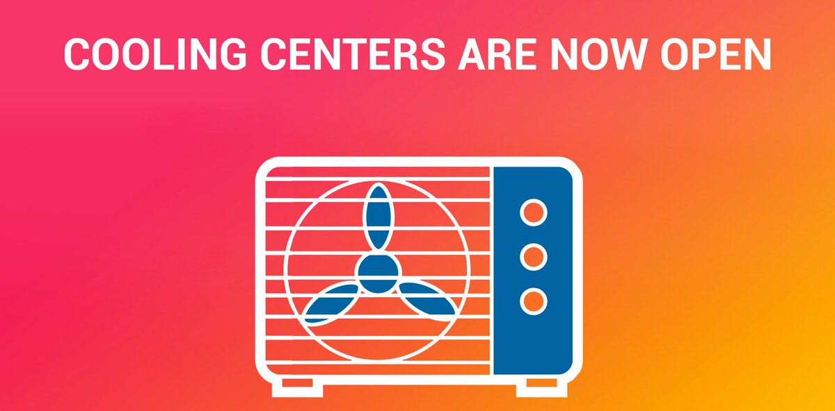 [PIC] In response to Heatwave we've activated cooling centers around LA. Find yours here: