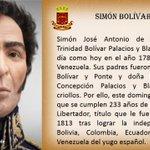 Hoy 24 de Julio Natalicio de Simón Bolívar paladín de la Independencia Americana.#LealAlLegadoDeBolivar @ABenavidesT https://t.co/II3J6Rgq1x
