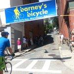 Finally witnessing the George Street Bike Race! Great event @7hwheel! https://t.co/1YSKTT1ZgD