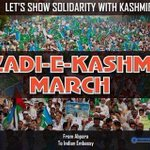 Please Join Us #Kashmir_FreedomMarch https://t.co/xJDLO3mAH1