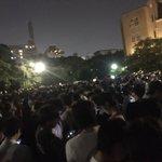 鶴舞公園。ギャラドスの出現により大パニック。 #ポケモンGO https://t.co/bYNYK2DiBr