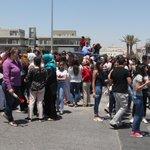 """#صور: """"الناجح يرفع ايده""""... فرحة الناجحين بـ #التوجيهي في #عمان (تصوير أمجد الطويل) https://t.co/3O3GEqKme5"""