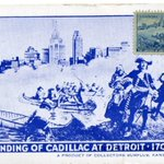 #OTD in 1701, an expedition led by Antoine de la mothe Cadillac established a new French settlement, #Detroit. https://t.co/suLzfYmaIk