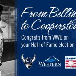 From your start in #Bellingham to your day in #Cooperstown, congrats Junior #WWU #JrHOF #GriffeyHOF #HOFWKND #TheKid https://t.co/sDsTdVzNug