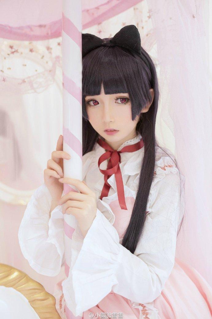 ちなみに、中国のコスプレイヤー・小圆脸雪雪さんは、新しく『俺の妹がこんなに可愛いはずが無い』の黒猫を披露されておりました