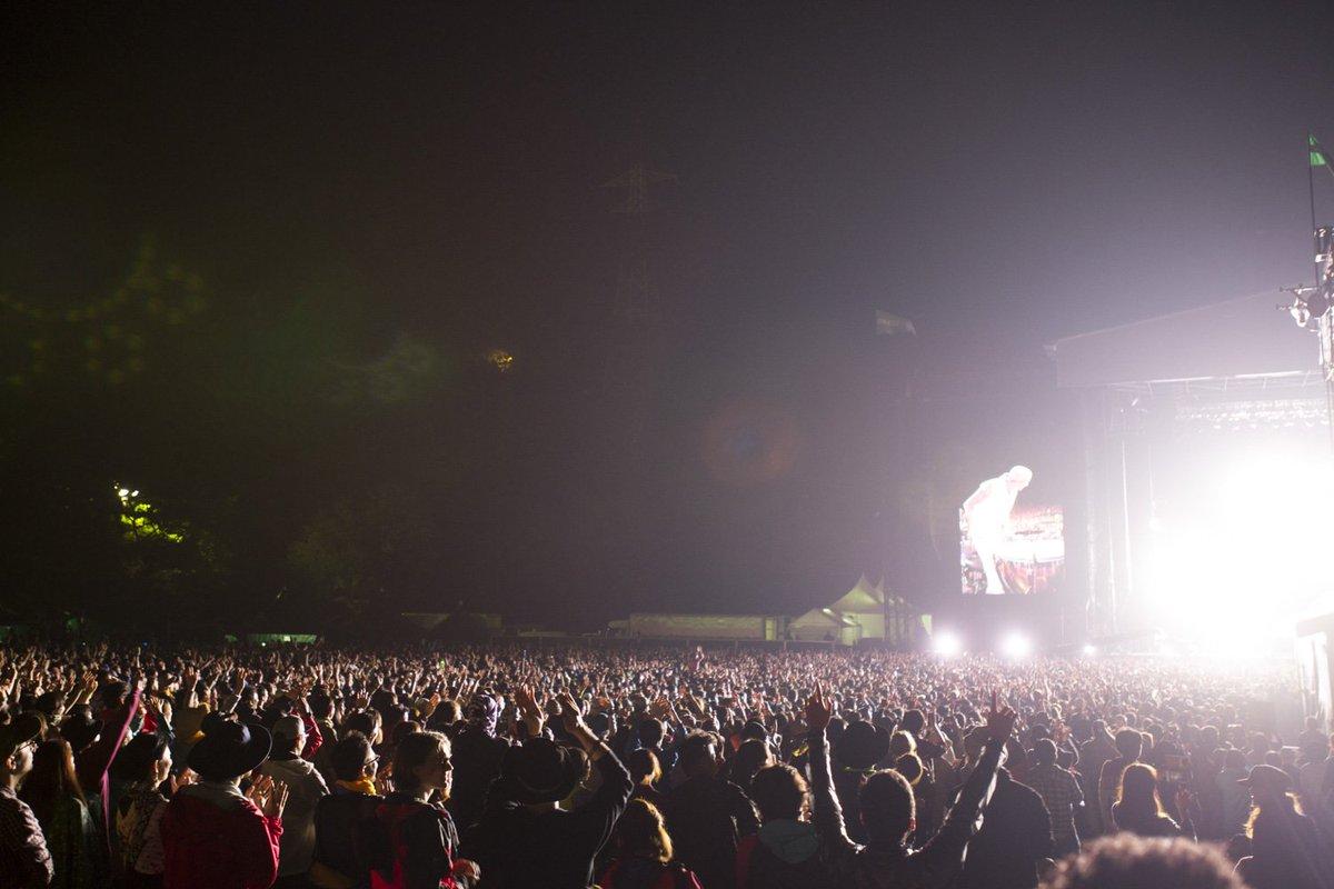 【苗場通信】超満員のグリーンステージ! #fujirock