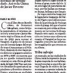 """Reseña de """"Un verano #chino"""", de Javier Reverte, en @ABC_Cultural. En #China no se hace #turismo, sino antropología. https://t.co/6T0gAd7m8P"""