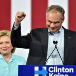 Clinton-Kaine debut was notable for being what the RNC was not: optimistic and orderly. https://t.co/TMVySGyJfV https://t.co/ND6wLnUK6z