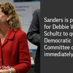 Democratic officials are weighing whether Chairwoman Debbie Wasserman Schultz should resign. https://t.co/z06fwxcGP8 https://t.co/RdaMnAkFX3