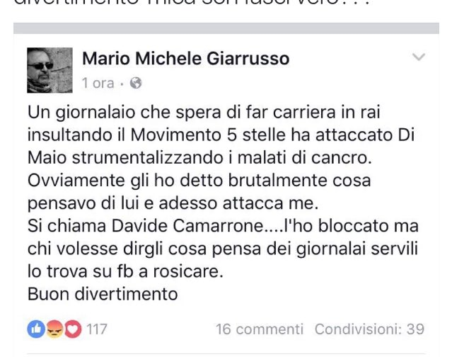 #Giarrusso