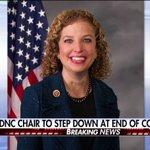 Breaking News: DNC Chair Debbie Wasserman Schultz to step down at end of convention. https://t.co/H3OBhoHcOj