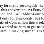 JUST IN: .@DWStweets is stepping down as chair of the Democratic National Convention. https://t.co/UniVpwkiaF