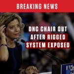 #BREAKING NEWS: DNC Chairwoman @DWStweets OUT after rigged system exposed. #DemConvention off to a good start. https://t.co/39GHE5ah32