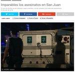[ENLACE] Tal como lo señalé. Imparables los asesinatos en San Juan. (@VoceroPR) https://t.co/EEG8Snia2j https://t.co/MB1xkumaXz