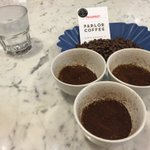 Getting ready to learn about #coffee @parlorcoffee #thewallabout #Brooklyn #nyc https://t.co/XzrXSqKWkl