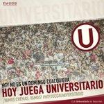 Hoy no es un domingo cualquiera, #HoyJuegaUniversitario Unión Comercio vs @Universitario  1:30pm - Moyobamba #UCvsU https://t.co/UwqmXgzoXa
