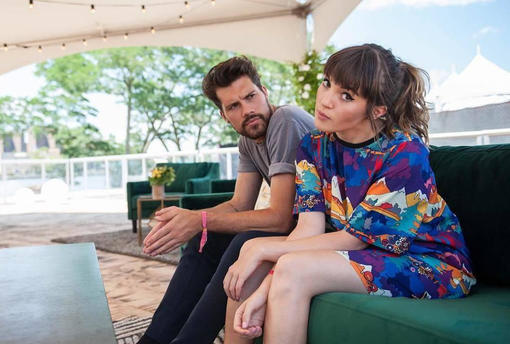 @ohwondermusic yesterday before their awesome set at @panoramanyc.
