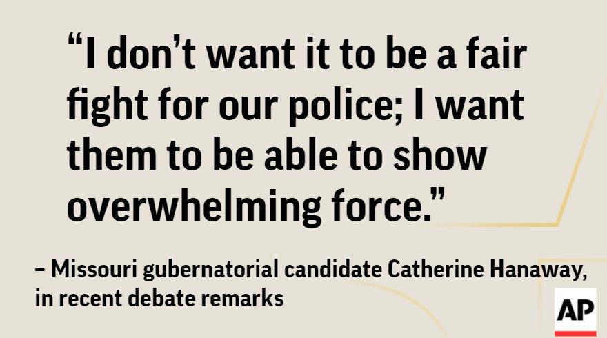 Post-Ferguson, candidates in Mo. GOP gubernatorial primary focus on