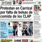 #24Jul así amanecen medios de los altos mirandinos gracias al engaño del PSUV en #Carrizal. Vía @laregionweb https://t.co/pwswgn7sZJ