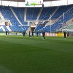 Les Bleuets sont arrivées au stade Rhein-Neckar-Arena #EuroU19 #FRAITA https://t.co/H21alHW7q2