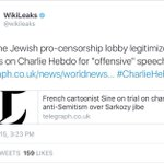Totally forgot that last night wasnt Julian Assanges AKA @wikileaks 1st antisemitic tweet. This from January 2015 https://t.co/OtRi9KwpzU