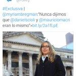 Para mi próximo truco voy a necesitar un tuit diciendo que Scioli y Macri son lo mismo y otro en el que lo niega. https://t.co/A54sdYEP01