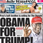 """Obamas Brother endorses Donald Trump for President of the United States """"He Speaks From The Heart"""" #Trump2016 #MAGA https://t.co/bgcDsgM97C"""