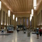 Note the respect Philadelphia shows for arriving visitors—compare its restored train station to NYC's Penn Station: https://t.co/JFMVN2nnyb