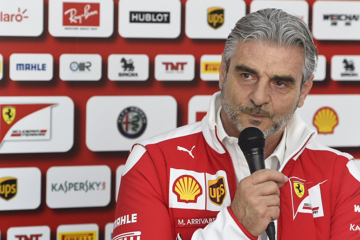 #Arrivabene