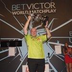 Our BetVictor #WorldMatchplay Champion. #BVDarts #lovethedarts https://t.co/mCvRzkPtBy