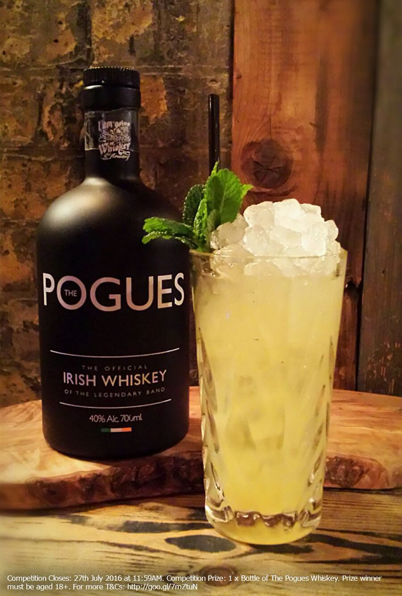 #Win a bottle of @pogueswhiskey - Like & RT to enter! #competition 18+ Only! https://t.co/UT9AKVKqOj