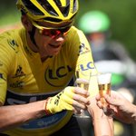 BREAKING: Chris Froome makes history after claiming his third Tour de France title https://t.co/KhnhxeT8Uf https://t.co/kuKyX11XsC