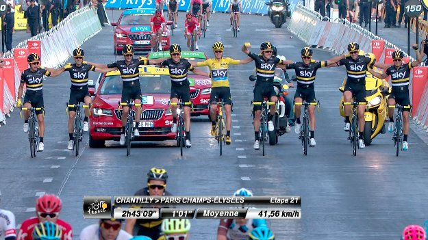 What an incredible #TDF2016 for @chrisfroome and @TeamSky