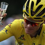 Chris Froome has done it. The first Briton to win three Tour de France titles. https://t.co/etyVFhGGlb