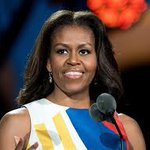 Michelle Obama first women in history to have speeches at both RNC and DNC! @MichelleObama https://t.co/R9iN2l26ym