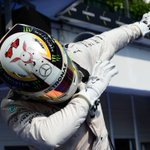 Lewis Hamilton:  - Wins #HungarianGP  - Goes top of #F1 Driver Standings  - Hits the Dab   (via @br_uk) https://t.co/UOQRwDosme