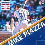 Forever enshrined. Mike Piazza enters the Hall of Fame as the 2nd representative of the New York Mets. https://t.co/iE5gl9ypds