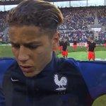 Allez @Amine_000, allez les Bleuets ! #MadeInFCN 🇫🇷 vs 🇮🇹 🏆 Finale #EuroU19 📺 @lequipe21 https://t.co/1vvypC0mbR